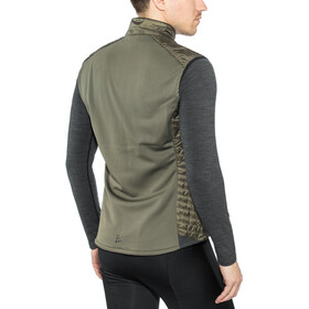 Craft Urban Run Body Warmer Men dk olive/black